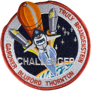Challenger STS-8 Embroidered Patch