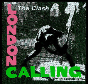 Clash (The) London Calling Patch