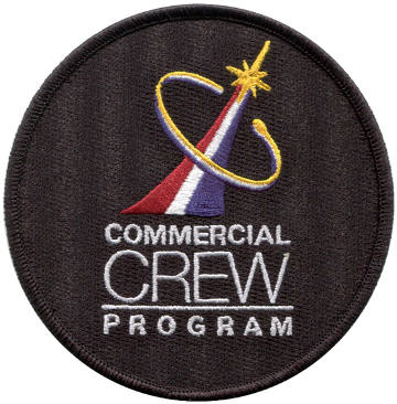 Commercial Crew Program Embroidered Patch
