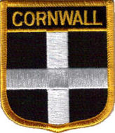 Cornwall County Embroidered Patch