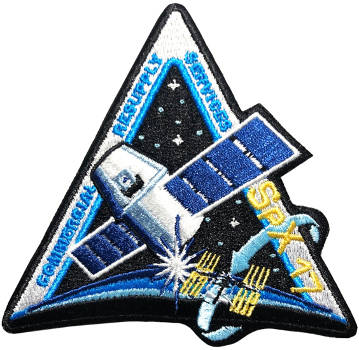 CRS SpaceX 17 Embroidered Patch