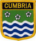 Cumbria County Embroidered Patch