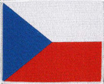 Czech Embroidered patch 12cm x 10cm