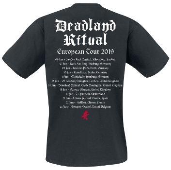 Deadland Riual - Euro Tour 2019 T Shirt