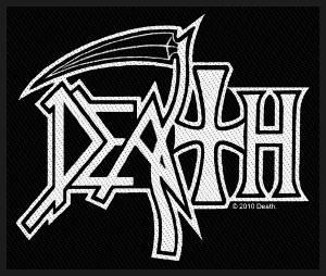Death - Death Logo Patch