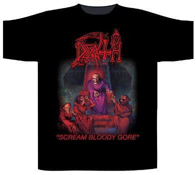 Death - Scream Bloody Gore T Shirt