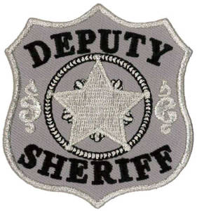 Deputy Sheriff Embroidered Patch