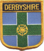 Derbyshire County Embroidered Patch
