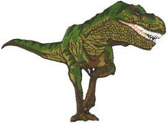 Dinosaur Tyrannosaurus Rex Embroidered Patch