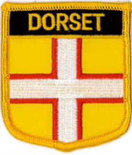 Dorset County Embroidered Patch