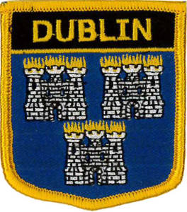 Dublin (Ireland) Embroidered Patch