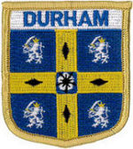Durham County Embroidered Patch