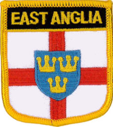 East Anglia Embroidered Patch
