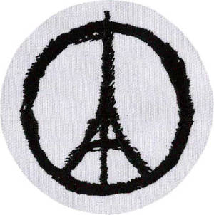 Eiffel Tower Peace Patch