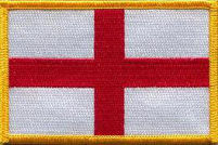 England (St George) Embroidered Patch