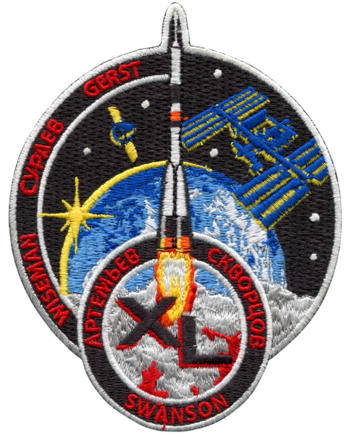 International Space Station - Expedition 40 Embroidered Patch