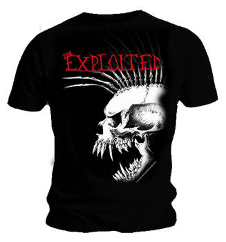 Exploited (The) _ Bastard Skull T Shirt​