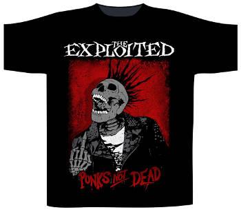 Exploited (The) Punks Not Dead / Splatter T Shirt