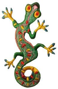 Gekko Embroidered Patch (Multicoloured)