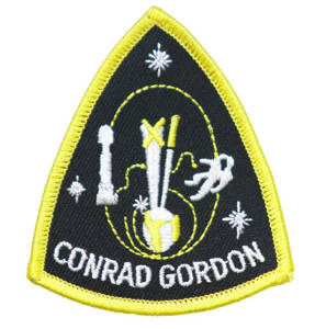 Gemini 11 Embroidered Patch
