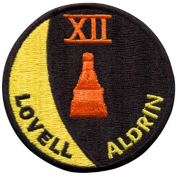 Gemini 12 Embroidered Patch