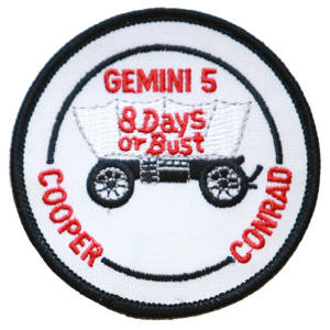 Gemini 5 Embroidered Patch