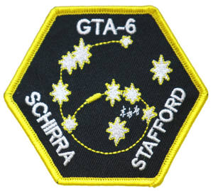 Gemini 6 Embroidered Patch