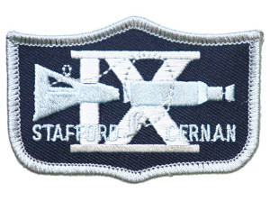 Gemini 9 Embroidered Patch