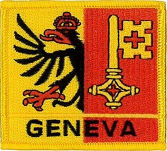 Geneva (Switzerland) Embroidered Patch