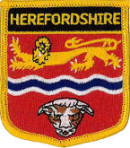 Herefordshire Embroidered Patch