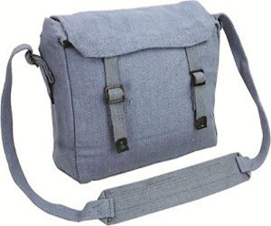 Highlander Messenger Webbing Haversack  (Blue)