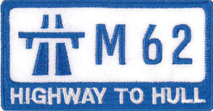 Highway to Hull Embroidered Patch