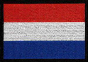 Holland Flag Embroidered Patch
