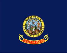 Idaho (USA State) Flag