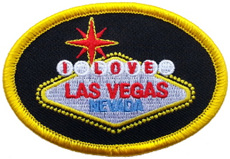 I Love Las Vegas Embroidered Patch