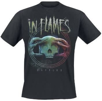 In Flames - Battles Circle T Shirt