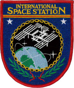 International Space Station Embroidered Patch