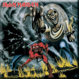 Iron Maiden - Number of the Beast Fridge Magnet