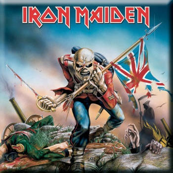 Iron Maiden - The Trooper Fridge Magnet​