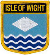 Isle of Wight Patch 7cm x 6cm