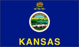 Kansas (USA State) Flag 5ft x 3ft