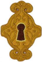 Keyhole Patch 7.5cm X 5cm