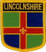 Lincolnshire County Patch 7cm x 6cm
