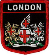 City of London Embroidered Patch