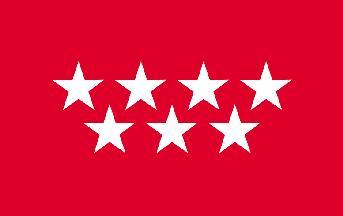 Madrid Flag 5ft x 3ft