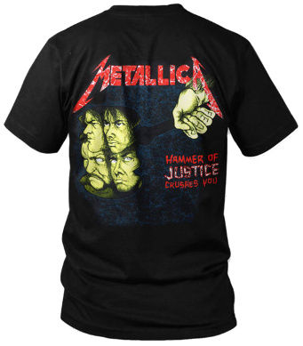 Metallica - And Justice For All (Original) T Shirt