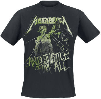 Metallica - And Justice For All T Shirt