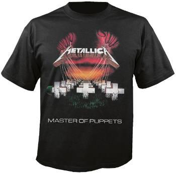 Metallica - Master of Puppets Tour Europe 86 T Shirt