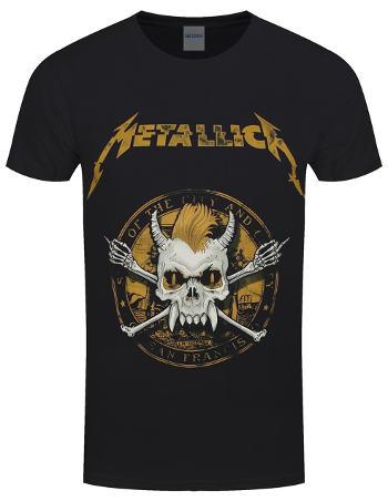 Metallica - Scary Guy Seal Black T Shirt