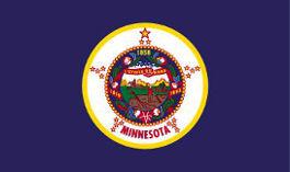 Minnesota USA State) Flag 5ft x 3ft